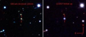 """Supernova """"assassina"""": brilla come 570 miliardi di Soli"""