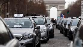 I tassisti in sciopero