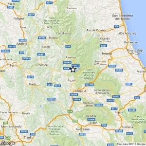 Terremoto L'Aquila, scossa di magnitudo 3.4