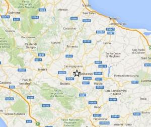 Terremoto Campobasso, scossa di magnitudo 4.1