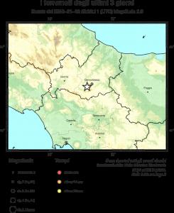 Terremoto Molise: nuove scosse, sciame sismico intenso