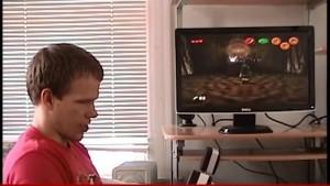 YOUTUBE Terry Garrett è cieco: in 5 anni completa videogame