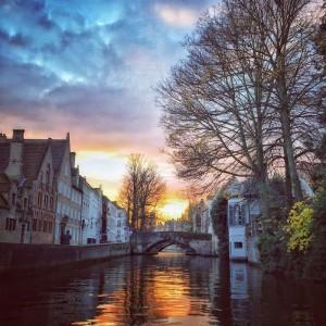 Guarda la versione ingrandita di Romanticherie dal Nord: Bruges nelle Fiandre