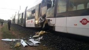Cagliari: scontro tra treni metropolitana, molti feriti