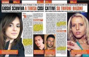 Trifone Ragone-Teresa Costanza: stalking su Facebook e..