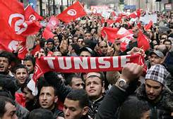 Le proteste in Tunisia