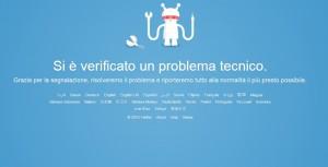Twitter non funziona, down martedì 19 gennaio
