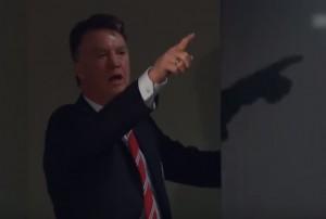 "YOUTUBE Van Gaal infuriato: ""Dico a te, ciccione!"""