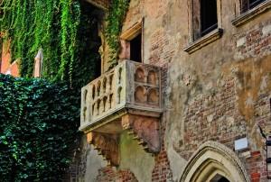Guarda la versione ingrandita di Il balcone di Romeo e Giulietta a Verona