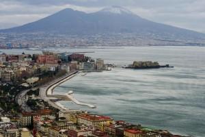 Vesuvio (foto Ansa)