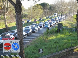 Guarda la versione ingrandita di Roma: via del Mare chiusa il 26 gennaio. Il 27 via Ostiense