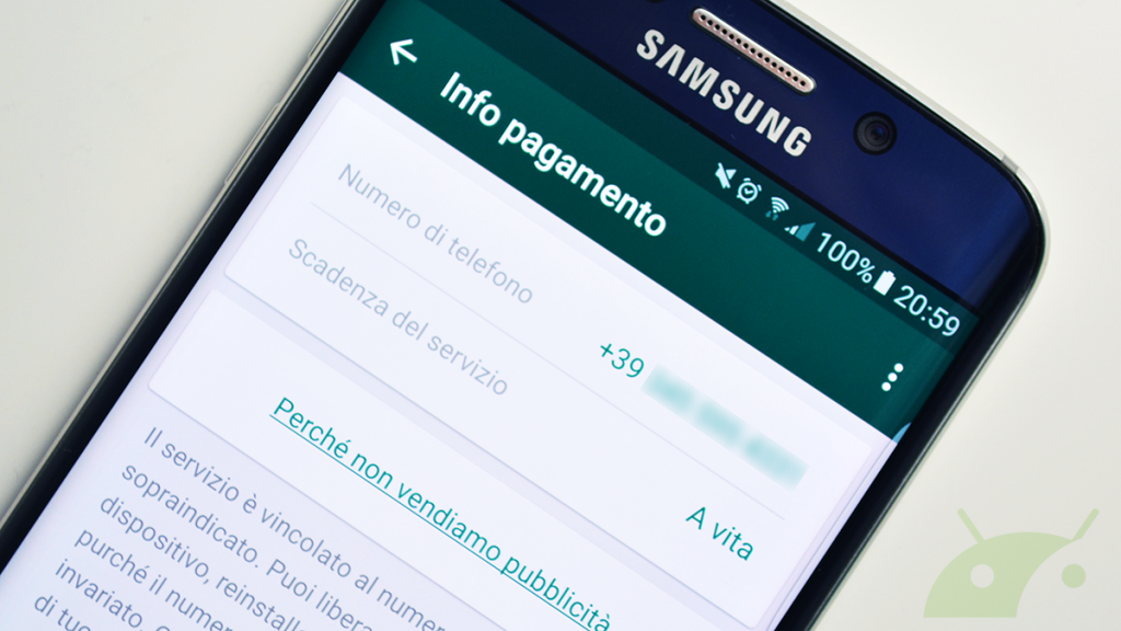 WhatsApp, gratis a vita oppure no? Quella notifica... 06