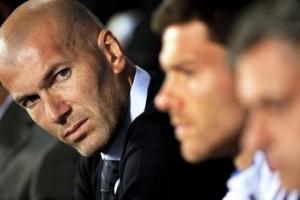 Guarda la versione ingrandita di Zinedine Zidane, il nuovo allenatore del Real Madrid (foto Ansa)