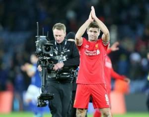 Steven Gerrard nella foto Ansa