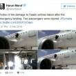 YOUTUBE Squarcio in cabina aereo, passeggeri filmano incidente 05