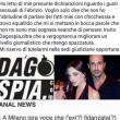 """Fabrizio Corona e il """"ditino"""". Silvia Provvedi smentisce 01"""