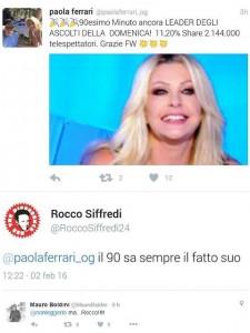 Guarda la versione ingrandita di Il tweet di Rocco Siffredi