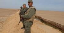 La barriera fra Tunisia e <br /> Libia anti Stato Islamico