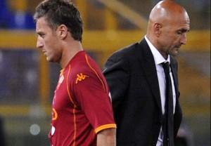 Guarda la versione ingrandita di Totti e Spalletti