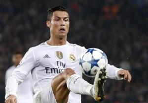 Ronaldo nella foto Ansa