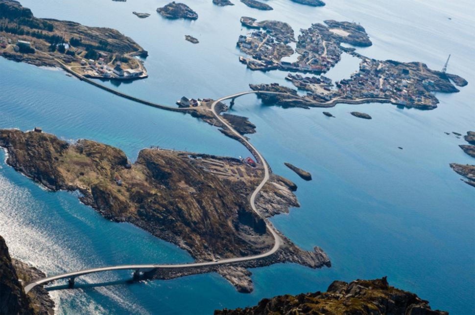 YOUTUBE Atlanterhavsveien, strada più pericolosa al mondo 05