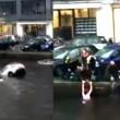 Auto va sott'acqua mamma e figlio salvi per miracolo13