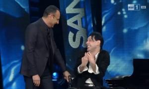 Ezio Bosso, il pianista malato di Sla emoziona Sanremo VIDEO