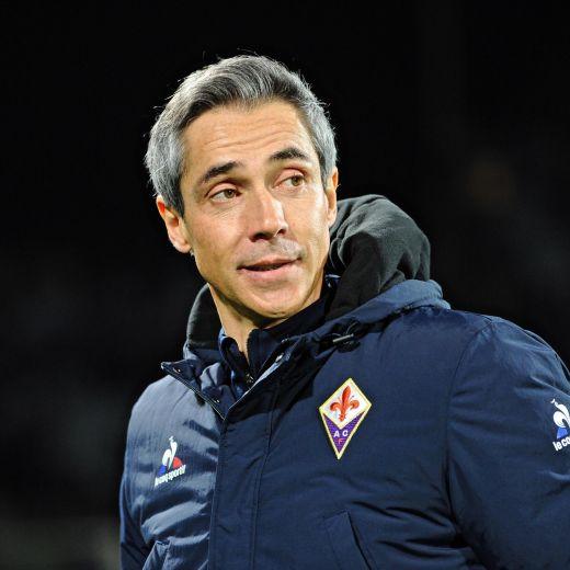 Fiorentina, Sousa nella foto Ansa