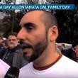 Family Day, coppia gay allontanata dalla polizia