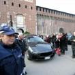Funerale Umberto Eco, folla al Castello Sforzesco 15