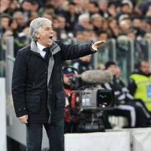 Guarda la versione ingrandita di Genoa - Lazio, Gasperini nella foto Ansa