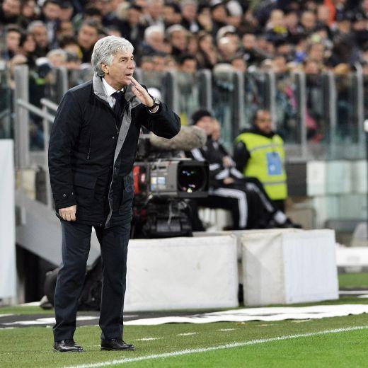 Genoa - Lazio, Gasperini nella foto Ansa