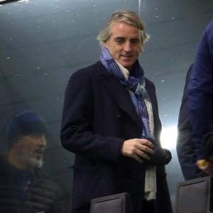 Guarda la versione ingrandita di Fiorentina - Inter, Mancini nella foto Ansa