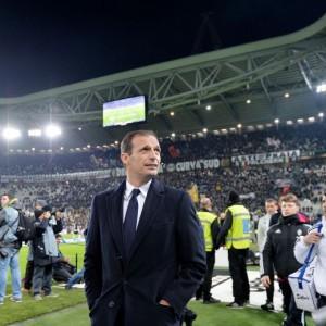 Guarda la versione ingrandita di Frosinone - Juventus, Allegri nella foto Ansa