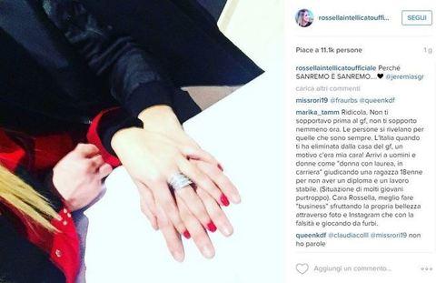 Jeremias Rodriguez bacia tronista Rossella Intellicato FOTO44
