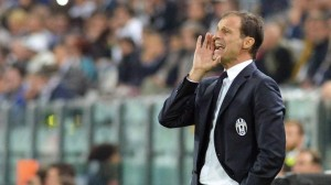 Juventus, Allegri nella foto Ansa