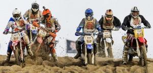 Torino, Fabio Marra muore in una gara di motocross (foto Ansa)