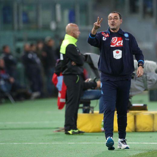 Serie A, Sarri nella foto Ansa