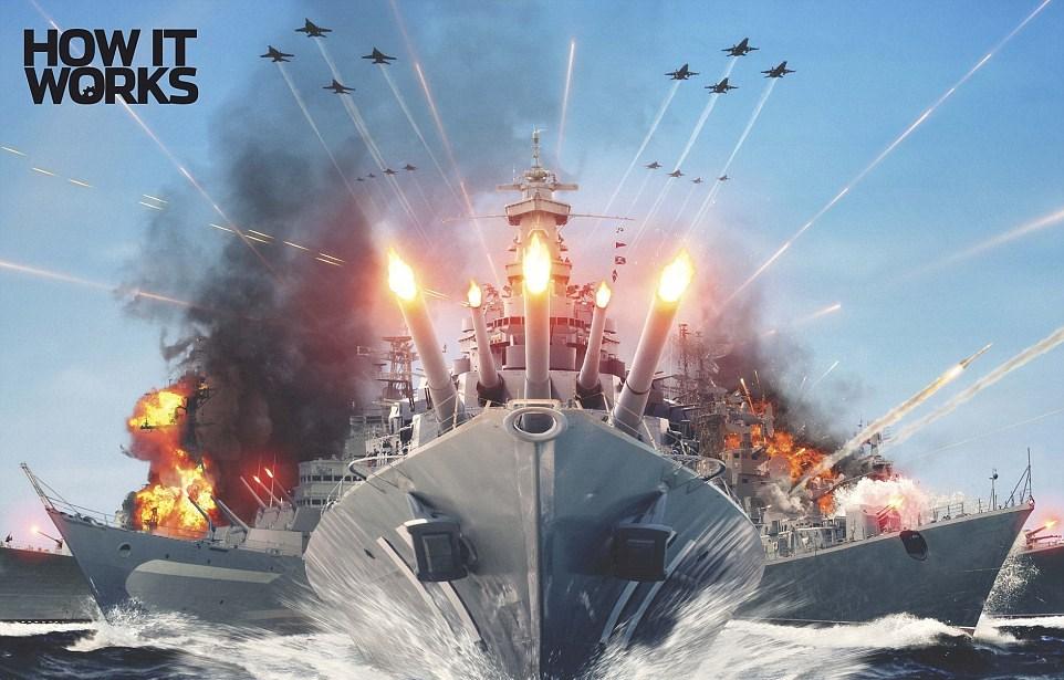 Navi da guerra future: droni, energia solare e i marinai