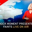 Rachel Mackley della Bbc sviene in diretta7