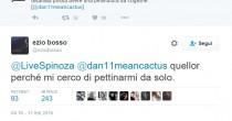 Ezio Bosso e la risposta <br /> ironica al tweet di Spinoza