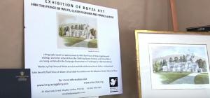 Guarda la versione ingrandita di Principe Carlo pittore: con acquerelli ha raccolto 2 milioni