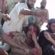 YOUTUBE Gheddafi sanguinante poco prima di morire