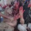 YOUTUBE Gheddafi sanguinante poco prima di morire 5