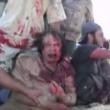 YOUTUBE Gheddafi sanguinante poco prima di morire 6