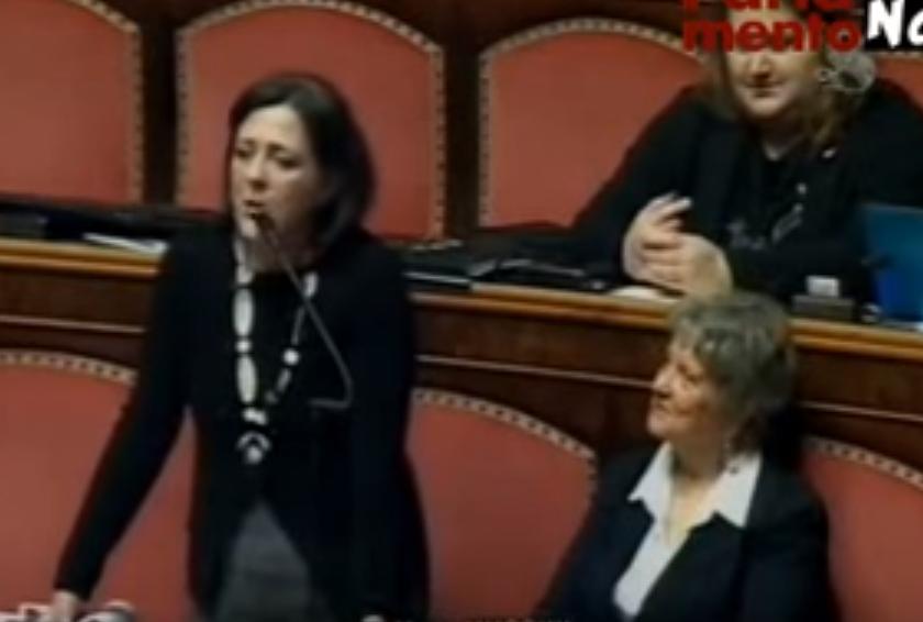 "YOUTUBE Maria Mussini: ""Anche Gesù senza padre naturale"" 5"