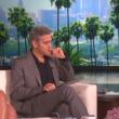 """YOUTUBE George Clooney: """"Ho fatto bagno nudo nel lago Como"""" 3"""