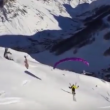 YOUTUBE Speed riding in Val d'Isere: il VIDEO 90