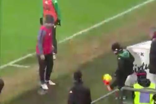Sassuolo, il raccattapalle ringrazia Totti