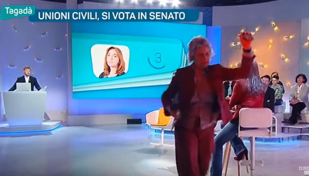 YOUTUBE Alessandra Mussolini parla di semi, Paola Concia... 8